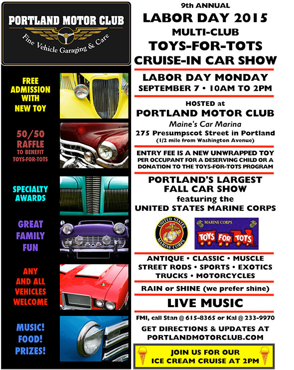 Toys For Tots Application 2013 : Th annual toys for tots labor day car show monday