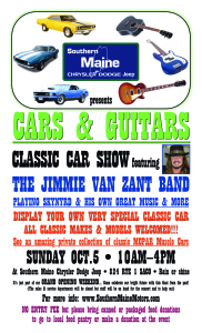 Cars and guitars classic car show and classic southern for Southern maine motors saco maine